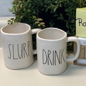 Rae Dun OG Drink & Slurp M Stamped Mugs.